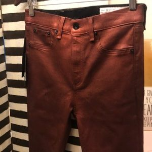 rag & bone Jeans - EUC Rag & Bone High Rise Skinny Jeans